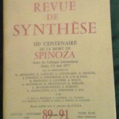 Spinozarevue