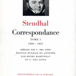 Stendhalcorrespondance