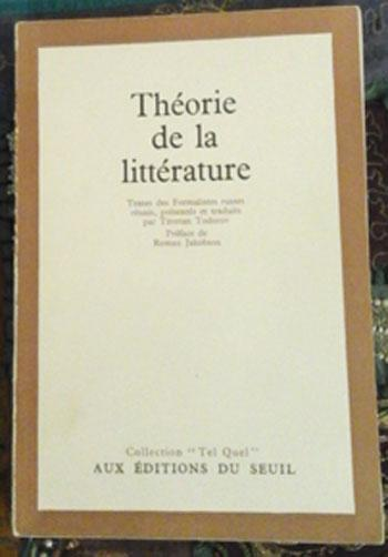 Theoriedelalitterature