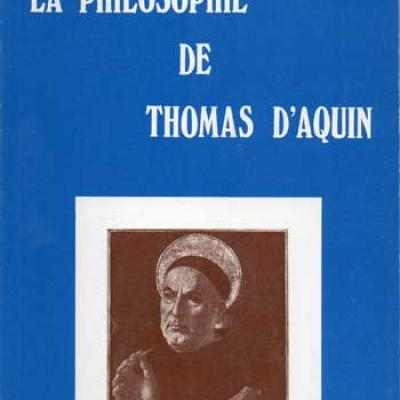 Rudolf Steiner La philosophie de Thomas d'Aquin