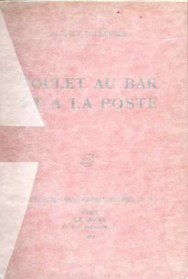 Boulanger Jacques Toulet au Bar et à la Poste