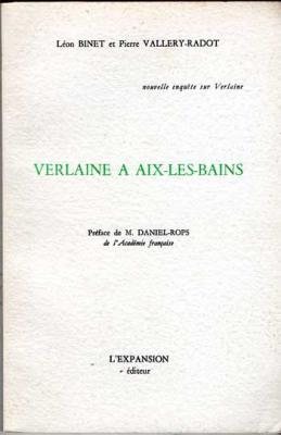 Binet Léon et Vallery-Radot Pierre Verlaine à Aix-Les-Bains