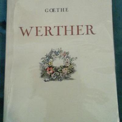 Goethe Werther Illustrations de André Hofer