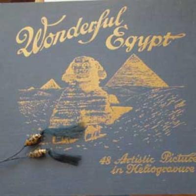 Wonderful Egypt 48 Artistic Pictures in Heliogravure VENDU